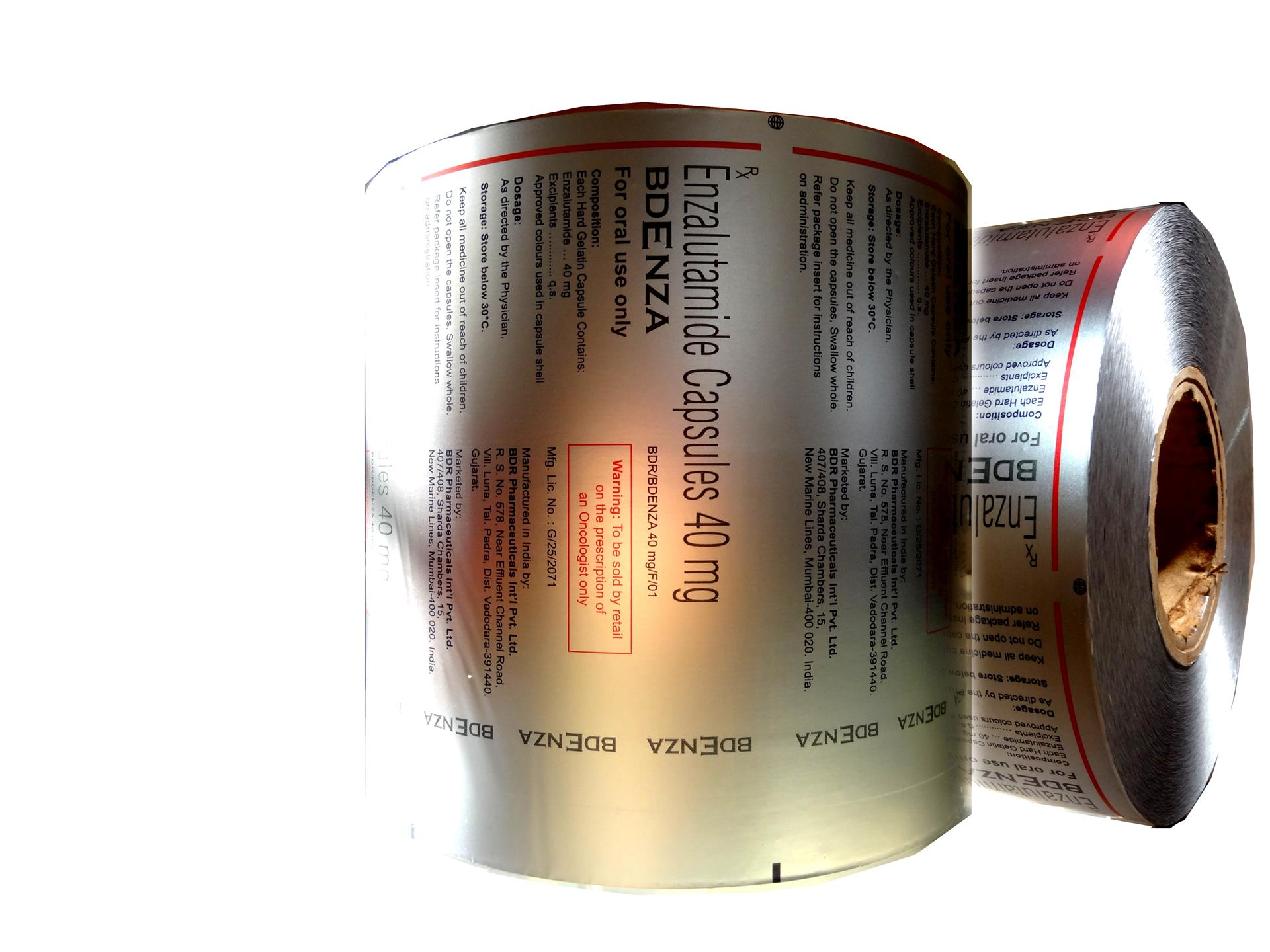 An image containing Blister Foil rolls used for Pharmaceutical Packaging